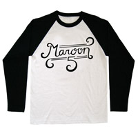 Maroon 5 Logo Raglan Tee