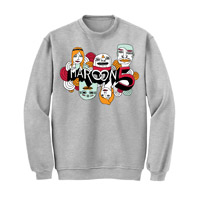 Maroon 5 Crew Neck Sweatshirt