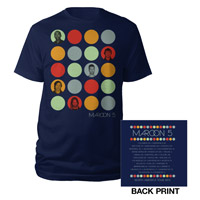 Maroon 5 Photo Circles Tour Tee