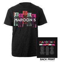 Maroon 5 Photo Blocks Tour Tee