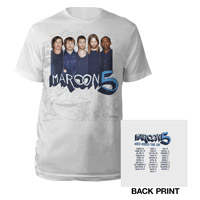 Maroon 5 Photo Tour Tee
