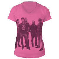 Maroon 5 Photo V-Neck Tee
