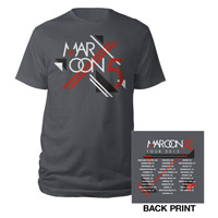 Maroon 5 Official 2013 Summer Tour Tee