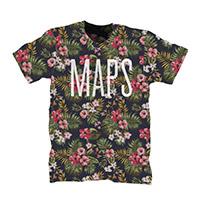 'Maps' Single Tee