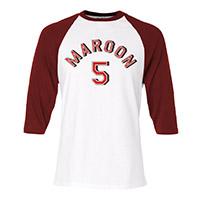 Maroon 5 Raglan Tee*