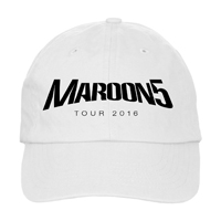 Maroon 5 2016 Tour Hat