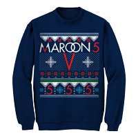 Maroon 5 Snowflake Ugly Christmas Sweater
