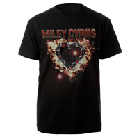 Miley Cyrus Barbed Wire Heart Tee