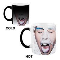 Heat Reveal Milk Splash Mug