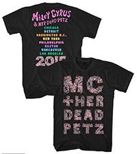 MC & Her Dead Petz Tour Tee
