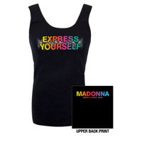 Madonna Men's Express Yourself Blk Vest