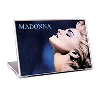 "Madonna True Blue 15"" Lap Top Skin"