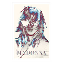 MDNA Tour Graphic Poster**