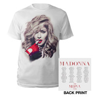MDNA Red Glove/Tour Tee