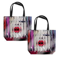 MDNA Vinyl Tote Bag