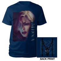 Madonna MDNA Photo/Tour Shirt