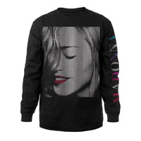 Madonna Red Lips Long Sleeve Shirt