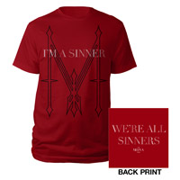 Madonna I'm a Sinner Red Men's Shirt