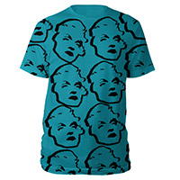 Madonna All Over Turquoise Tee