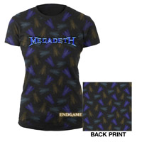 Ladies Megadeth Endgame Jr. T-Shirt