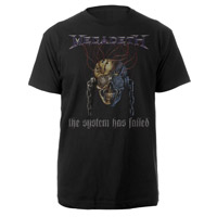 The System Has Failed Megadeth T-Shirt