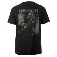 Megadeth Th1rt3en Tee