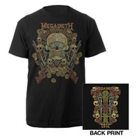 2012 Megadeth Tour Tee