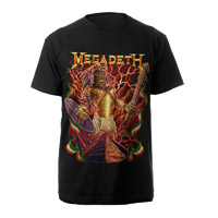 Aztec Vic Megadeth Tee