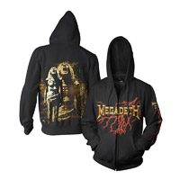 Megadeth Zip-Up Hoodie