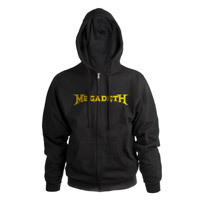 Megadeth Logo Zip-Up Hoodie
