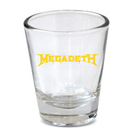 Megadeth Shot Glass