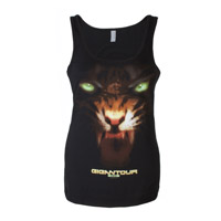 Megadeth Gigantour Ladies Tank Top