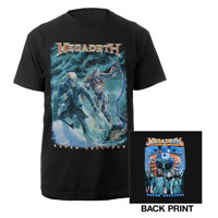 2013 Super Collider Megadeth Tour Tee
