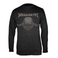 Megadeth Long Sleeve Vic Tee