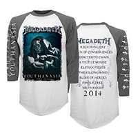 20th Anniversary Youthanasia Raglan