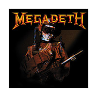 Megadeth Album Cover Button