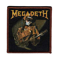 Megadeth Album Cover Patch