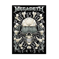 Megadeth Vic Sticker