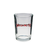 NEW - 4oz Megadeth Shot Glass
