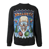 NEW- Ugly Megadeth Christmas Crewneck Sweatshirt