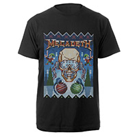 NEW - Ugly Megadeth Christmas Tee