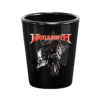 Megadeth Vic Shot Glass