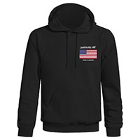 Patriotic AF Made in America Flag Hoodie