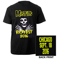 Misfits  2016 Riotfest Chicago Tee