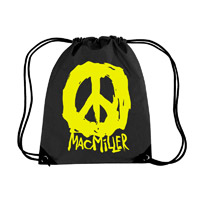 Mac Miller Black Cinch Bag