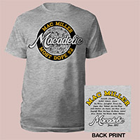 Mac Miller Most Dope Macadelic Shirt with Show Dates
