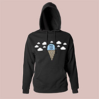 Mac Miller Blue Slide Park Black Hoody