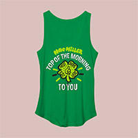 Mac Miller Women's Shamrock Tank