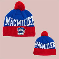 Mac Miller Blue/Red Beanie