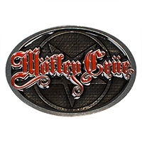 Motley Crue Belt Buckle